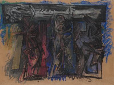 Hans Burkhardt, 'Burial Procession', 1961