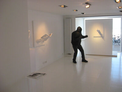 Mark Jenkins, 'view of the exhibition 2014 Knokke', 2014