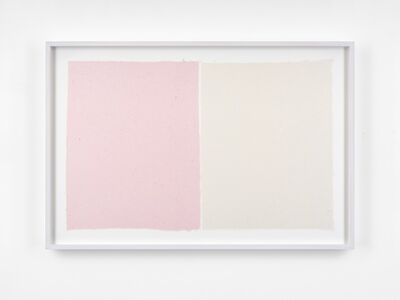 Ethan Cook, 'Pink, White', 2020