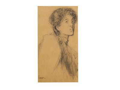 Walter Richard Sickert, 'Portrait of a young woman'