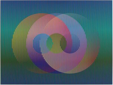 Carlos Cruz-Diez, 'Color Aditivo Panam Círculos 1', 2010