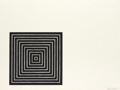 Frank Stella, 'Angriff', 1971