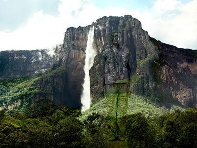 Liu Bolin, 'Hiding in Venezuela – Angel Falls', 2013