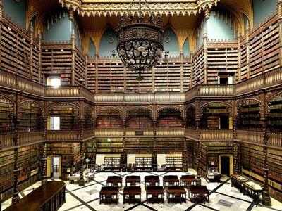 Massimo Listri, 'Gabinete Real de Leitura Portuguesa, Rio de Janeiro, Brazil | World Libraries', 2012