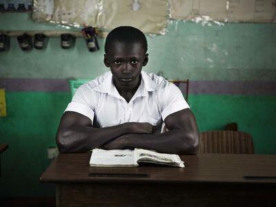 Kurt Stallaert, 'Gambia School Boy', 2010