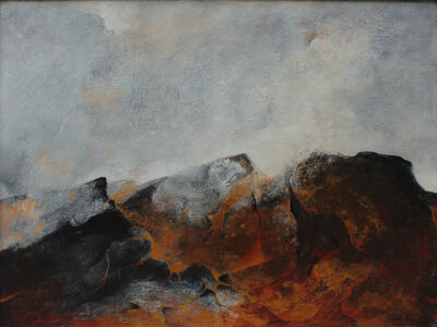 Byron Galvez, 'Rocas y llamas - Rocks and flames ', 1973