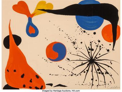 Alexander Calder, 'Flies in the Spider Web', 1975