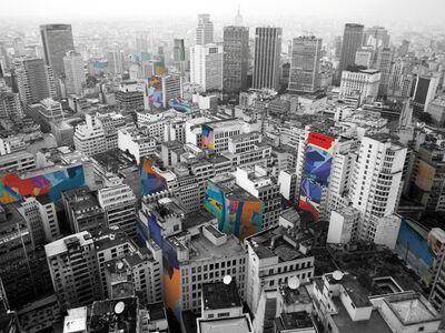 Franz Ackermann, 'New Ads for São Paulo 4', 2011