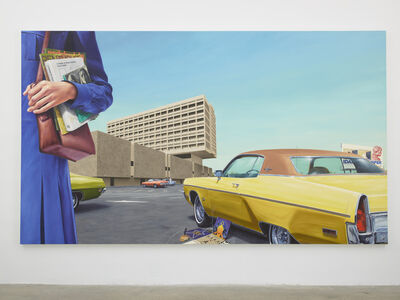 Eric White, 'East 1973 Plymouth Fury', 2018