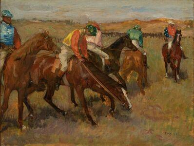 Edgar Degas, 'Before the Race', ca. 1882