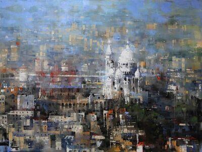Mark Lague, 'Sacre Coeur Afternoon'