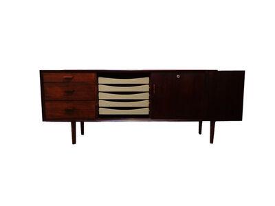 Arne Vodder, 'Freestanding rosewood sideboard by Sibast Møbler, Danish 1950s', ca. 1950s