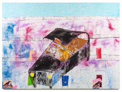 Jenny Watson, 'A London taxi and a London terrace', 2018
