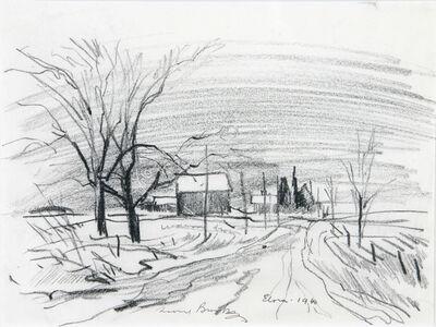 Leonard Brooks, 'Elora', 1940