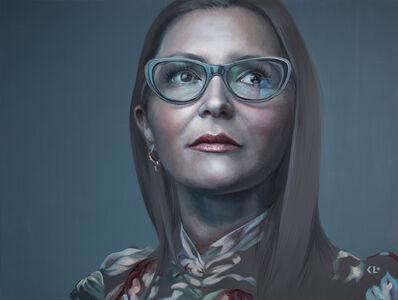 Kathrin Longhurst, 'Against The Stream (Portrait of Danijela)', 2019
