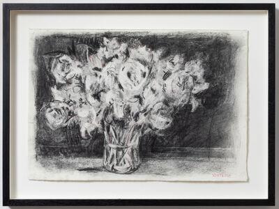 William Kentridge, 'Peonies (Drawing for Studio Life)', 2020