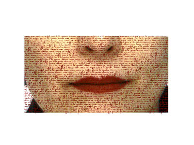 Carolle Benitah, 'Donner mon coeur ne suffit pas a te garder', 2012