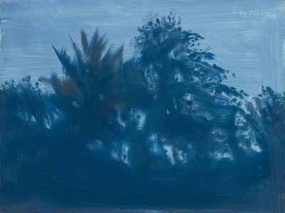 Alex Katz, 'Late Afternoon Blue', 2006