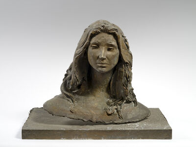 Giacomo Manzù, 'Busto di Danielle Gardner', 1981