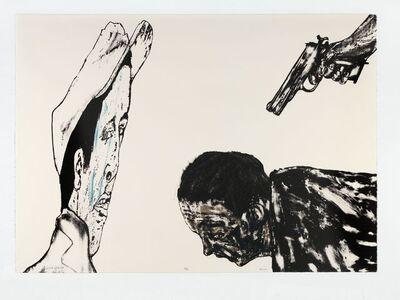 Leon Golub, 'White Squad', 1987