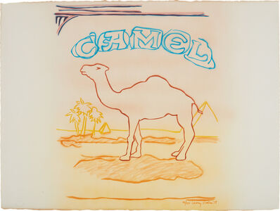 Larry Rivers, 'Stencil Pack Camel', 1978