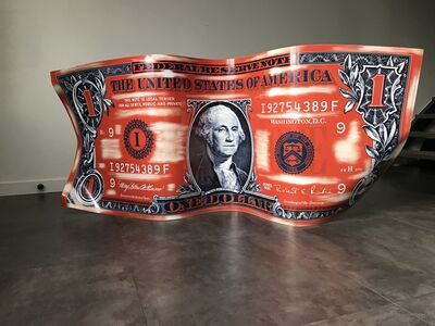 Karl Lagasse, 'One Dollar Orange - Horizontal', 2017