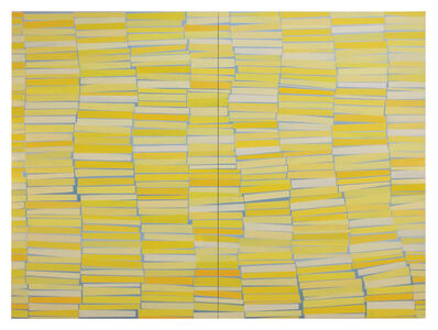 Suzanne Frazier, 'Floating Stacks Yellow', 2018