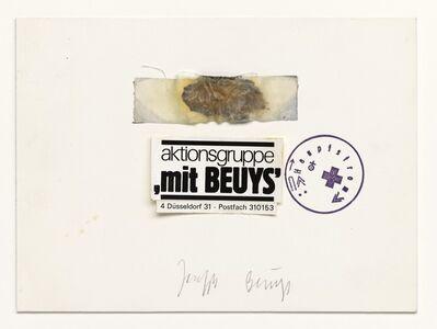 Joseph Beuys, 'Ohne Titel (Aktionsgruppe) / Untitled (Action Group)', 1980