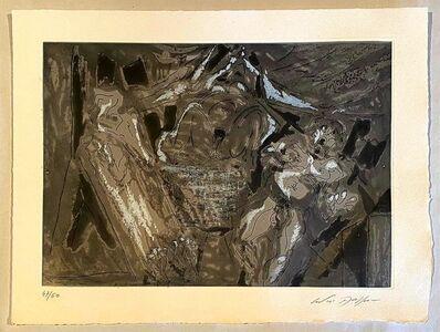 André Masson, 'Le mort', 1964
