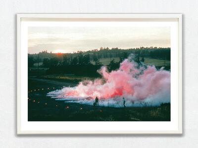 Judy Chicago, 'Pink Atmosphere, 1971, Cal State Fullerton, Fullerton, CA', printed 2018