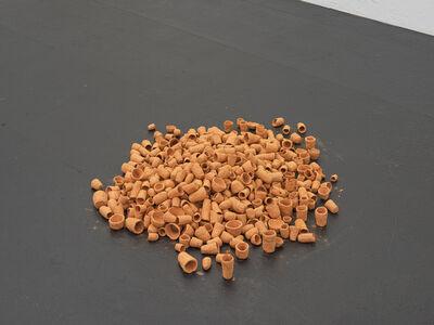 Finbar Ward, '780 terracotta pots', 2019