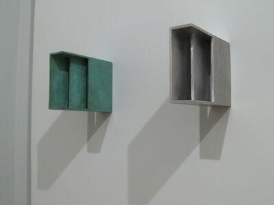Joachim Bandau, 'Doppel/zwei gleiche Formate', 2007