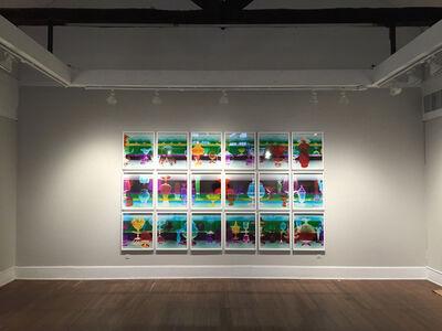 Robert Calafiore, 'Ogetti di Vetro, Smeraldo', 2015