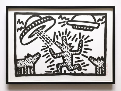 Keith Haring, 'Untitled 4', 1982