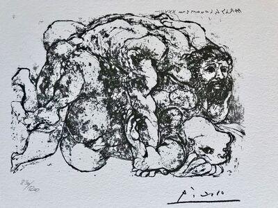 Pablo Picasso, 'Le viol VII', 1973