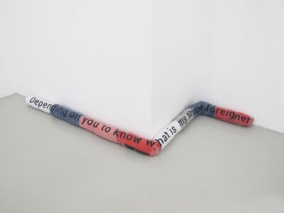 Aude Pariset, 'Draft Stopper_My Shape', 2014