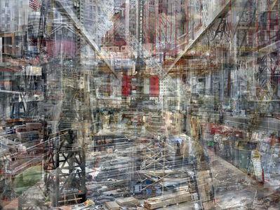 Shai Kremer, 'W.T.C: Concrete Abstract #1', 2011-2013