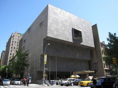 Marcel Breuer, 'Whitney Museum of American Art', 1966