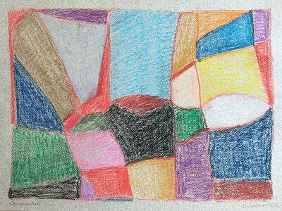 Samia Osseiran Junblat, 'Composition (4)', 1989