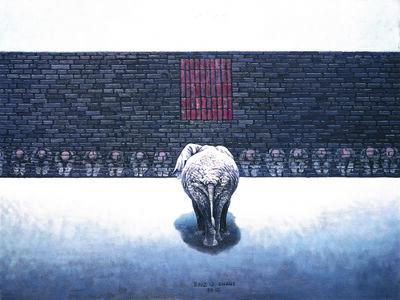 ZHANG LINHAI, 'Sandbox series ', 2012