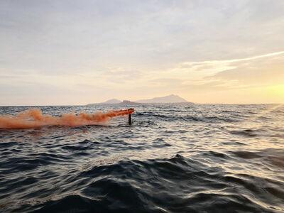 Daniele Sigalot, 'Superficial (Orange I)', 2020