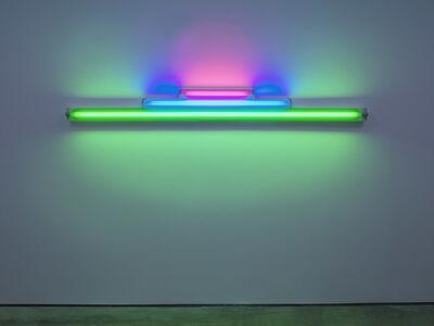 Dan Flavin, 'untitled (in memory of Josef Albers) 1', 1977