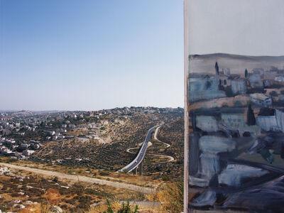 Shai Kremer, 'View towards Beit Jhalla, Shooting Defence Wall, Gilo Neighbourhood, Jerusalem', 2004