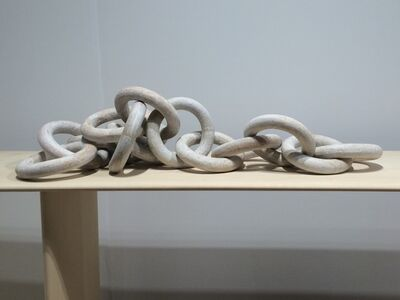 Michele Quan, '14 Linked Chains - White'
