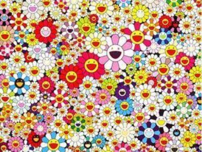 Takashi Murakami, 'Flowers in Heaven'