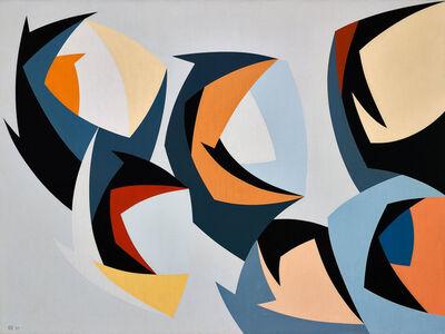 Karl Benjamin, 'Dissected Spheres', 1957