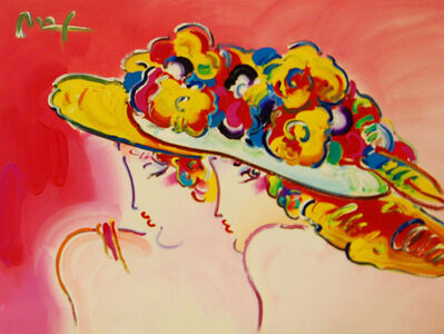 Peter Max, 'Friends', 2001