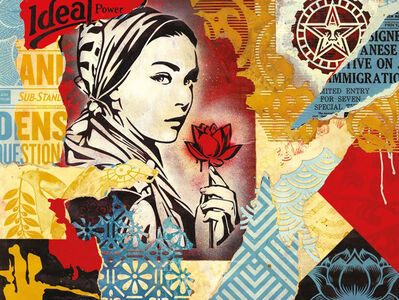 Shepard Fairey, ''Ideal Power Collage' 1000pc. Puzzle', 2020