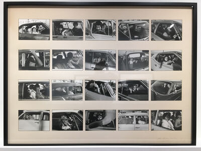 Mike Mandel, 'People in Cars', 1970-1973