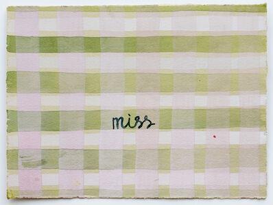 Julia Kuhl, 'Domestic Textiles Series, Miss ', 2019